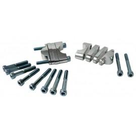 Handlebar Riser Silver 28.6mm