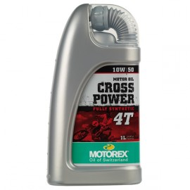 Motorex Cross Power 10w/50w 1L
