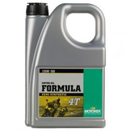 Motorex Formula 4T Four Stroke 15w/50w 4L