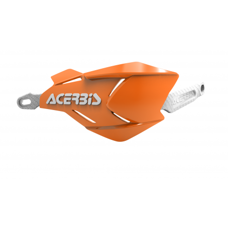 Acerbis X-Factory hand guards Orange/White