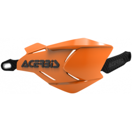 Acerbis X-Factory hand guards Orange/Black
