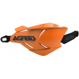 Acerbis X-Factory hand guards Orange/Black