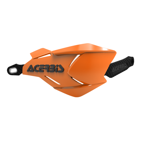 Acerbis X-Factory hand guards Orange/White
