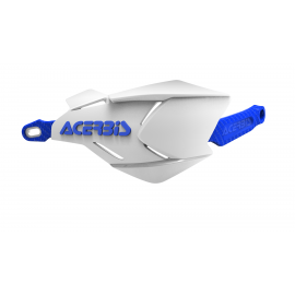 Acerbis X-Factory hand guards White Blue