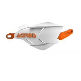 Acerbis X-Factory hand guards White Orange
