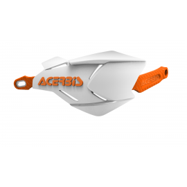 Acerbis X-Factory hand guards White Orange