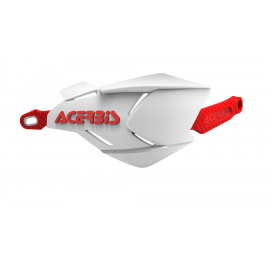 Acerbis X-Factory hand guards White Red