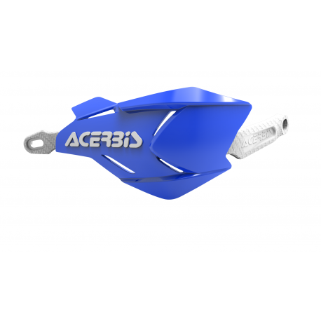 Acerbis X-Factory hand guards Blue White