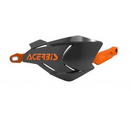 Acerbis X-Factory hand guards Black Orange