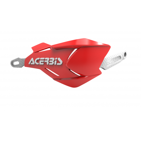 Acerbis X-Factory hand guards Red White