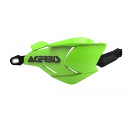 Acerbis X-Factory hand guards Green Black