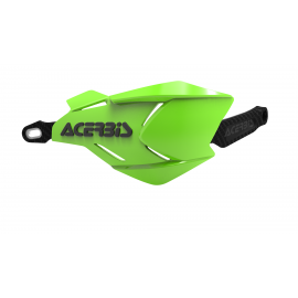 Acerbis X-Factory hand guards Green Black